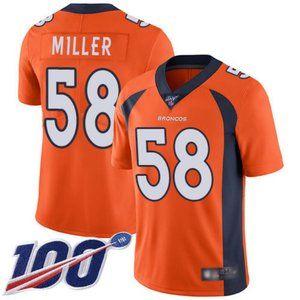 Broncos Von Miller 100th Season Jersey 1